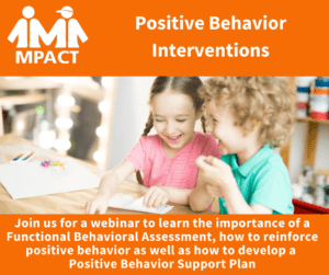 Positive Behavior Interventions @ Webinar